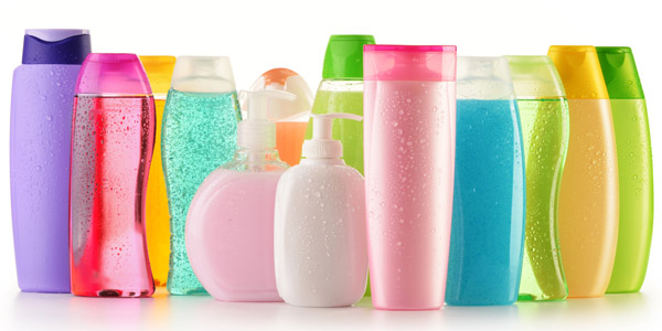 a picture of colourful Beauty products